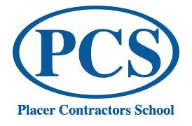 Placer Contractors School